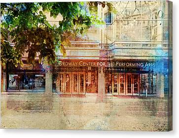 Canvas Print featuring the photograph Ordway Center by Susan Stone