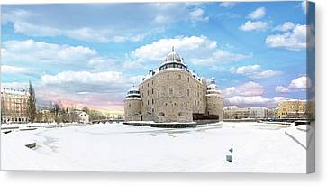 Orebro Castle Canvas Print