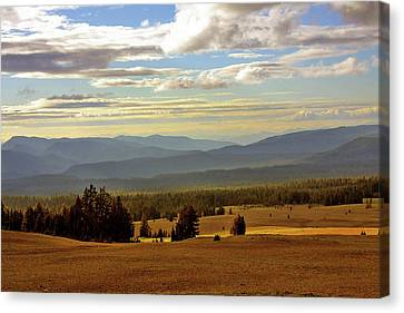 Oregon - Land Of The Setting Sun Canvas Print by Christine Till