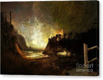 Oregon Beach Canvas Print by Jeff Burgess