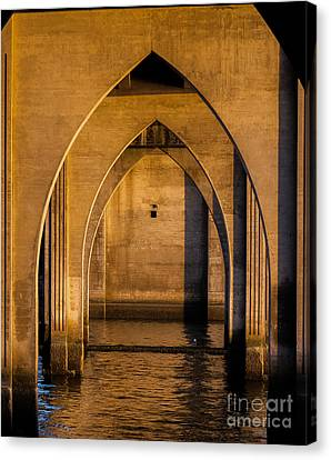 Oregon Bridge 1 Canvas Print