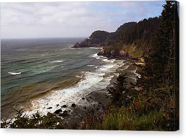 Oregon Coast Canvas Print by Joanne Coyle
