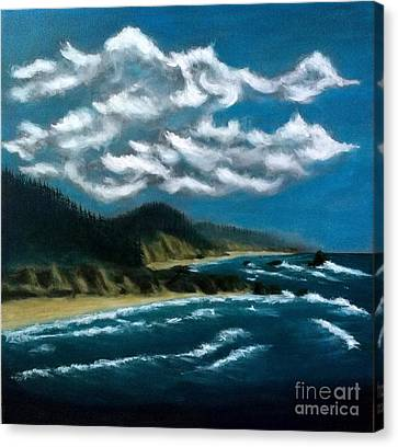 Oregon Coast Canvas Print by John Lyes