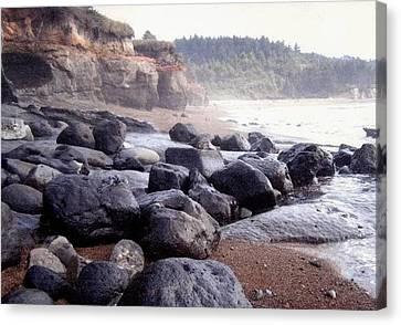 Oregon Coast Rocks Canvas Print