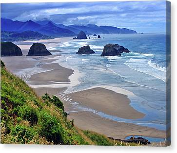 Oregon Coast Canvas Print by Scott Mahon