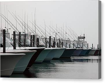 Oregon Inlet Canvas Print