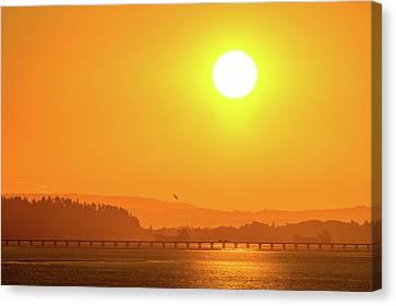 Oregon Sunrise Canvas Print