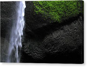 Oregon Waterfall Canvas Print