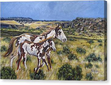 Oregon Wildies Canvas Print by Melody Perez