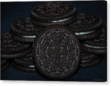 Oreo Cookies Canvas Print by Rob Hans