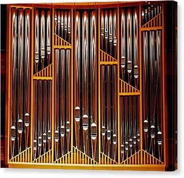 Organ Opus 76 - Philadelphia Canvas Print by Rona Black