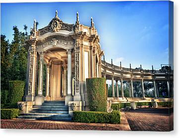 Organ Pavillion At Balboa Park Canvas Print