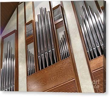Organ Pipes Canvas Print by Ann Horn