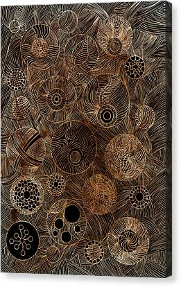 Organic Forms Canvas Print by Frank Tschakert
