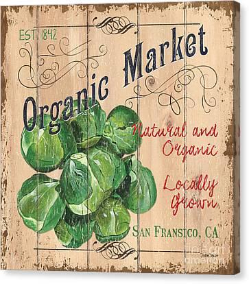 Organic Market Canvas Print by Debbie DeWitt