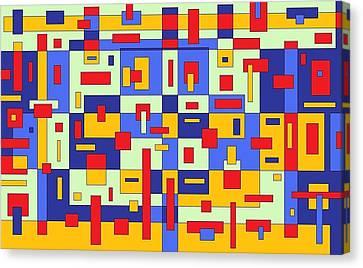 Organize Canvas Print by Jordana Sands