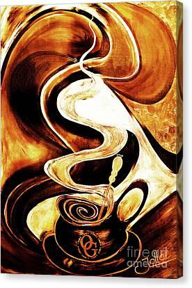 Organo Coffee Canvas Print
