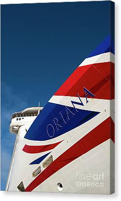 Oriana Canvas Print by Anne Gilbert