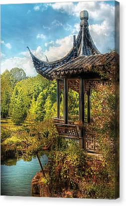 Orient - From A Chinese Fairytale Canvas Print by Mike Savad