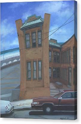 Oriental Avenue Canvas Print