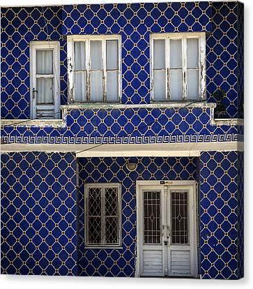 Oriental House Canvas Print