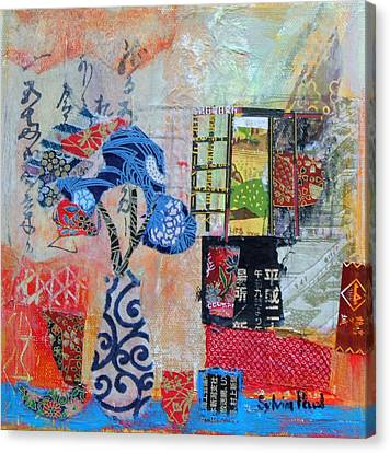 Oriental Interior Canvas Print by Sylvia Paul