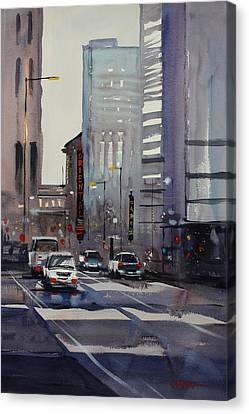Oriental Theater - Chicago Canvas Print by Ryan Radke