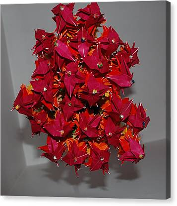 Origami Flowers Canvas Print by Rob Hans