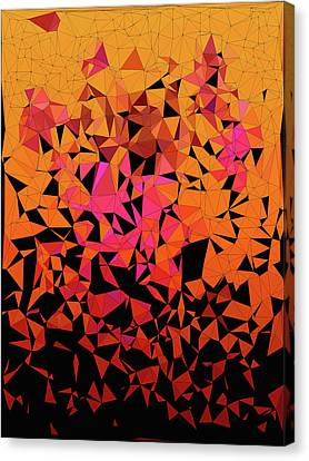 Origami Canvas Print by Susan Maxwell Schmidt