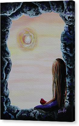 Original Fantasy Artwork Canvas Print by Shawna Erback
