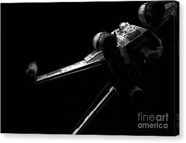 Original Luke Skywalker X-wing Fighter 2 Canvas Print by Micah May