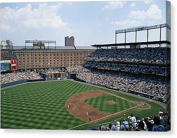 Orioles Park. Kansas City Royals Canvas Print by Brian Gordon Green