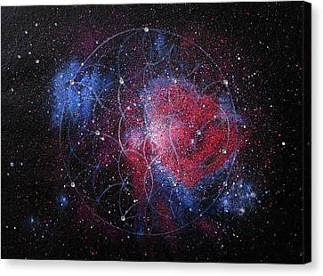Orion Nebula Canvas Print by Murielle Sunier