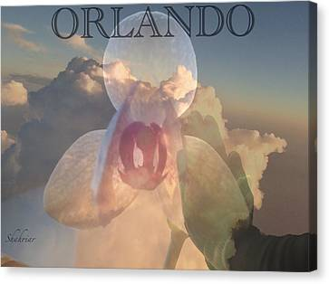 Orlando In Our Mind Canvas Print