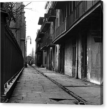 Orleans Alley Canvas Print