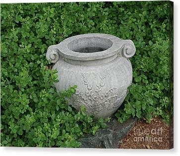 Ornamental Garden Spot Canvas Print