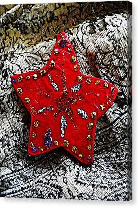 Ornaments 15 Canvas Print by Sarah Loft
