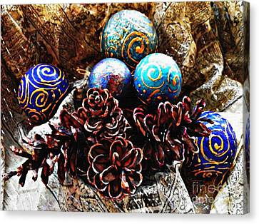 Ornaments 6 Canvas Print