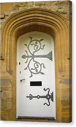 Ornate Door 1 Canvas Print by Douglas Barnett
