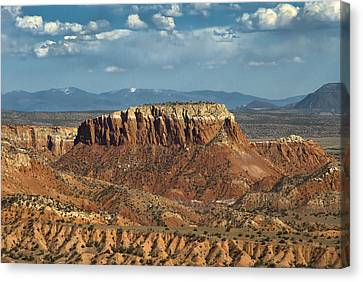 Orphan Mesa Canvas Print by Lou  Novick