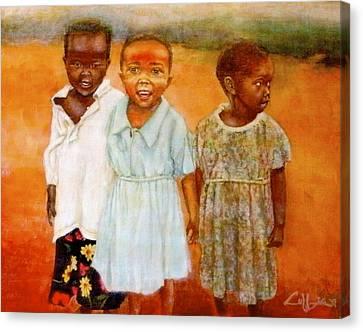 Orphans3 Canvas Print