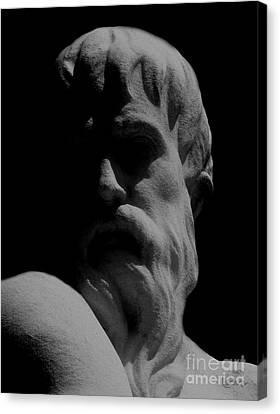Orpheus Looks Back Canvas Print by RC DeWinter