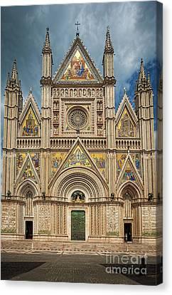 Orvieto Duomo Canvas Print