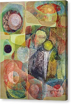 Os1961dc002bo Abstract Landscape Potosi 17x22.25 Canvas Print by Alfredo Da Silva