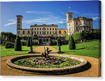 Osborne House Canvas Print by Martin Newman