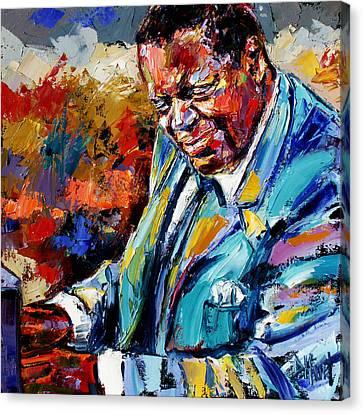 Oscar Canvas Print by Debra Hurd