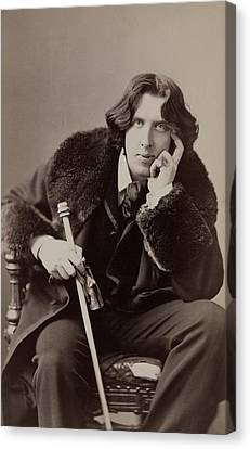 Oscar Wilde, 1854-1900 Irish Writer Canvas Print by Everett