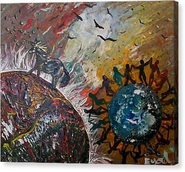Osho's Vision Canvas Print by Eyal Malek