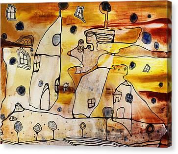 Oshun Canvas Print by Cristine Cambrea