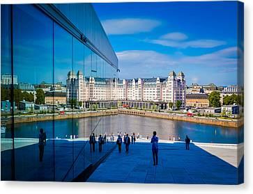 Oslo Reflection Canvas Print